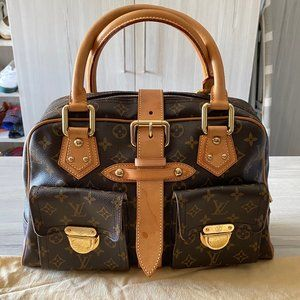Louis Vuitton LV Monogram Manhattan Bag GM